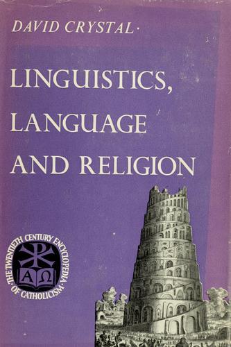 Download Linguistics, language and religion