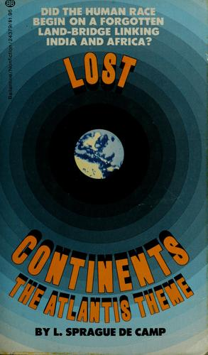 Lost continents