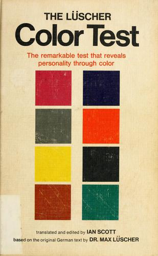 Download The Lüscher color test.