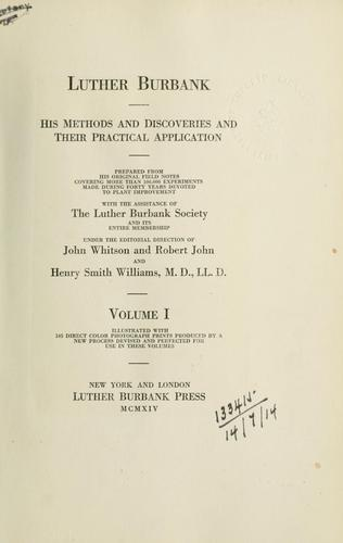 Download Luther Burbank