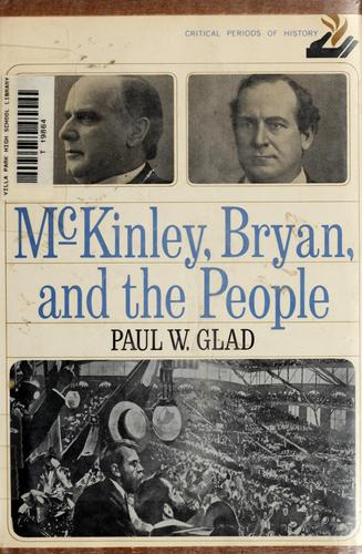 Download McKinley, Bryan, and the people. —