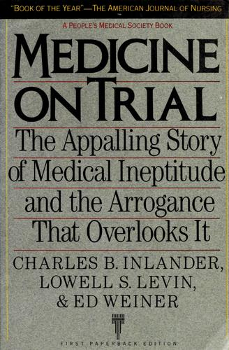 Download Medicine on trial