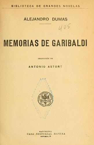 Memorias de Garibaldi