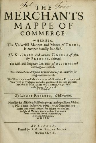 Download The merchants mappe of commerce