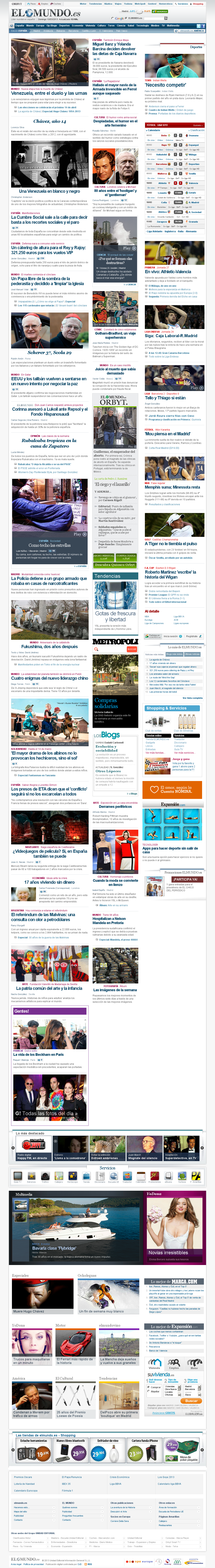 El Mundo at Sunday March 10, 2013, 11:13 a.m. UTC