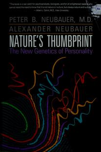 Cover of: NATURE THUMBPRINT PB /NEUBAUER | Peter B. Neubauer, Alexander Neubauer