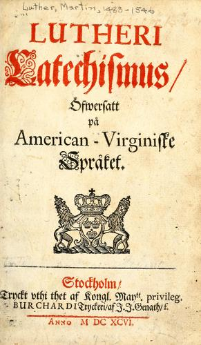 Lutheri Catechismus by Martin Luther